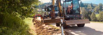 Baubeginn 14. Juni 2021 Abschnitt R7 von Schöneck bis nach Jägerhaus